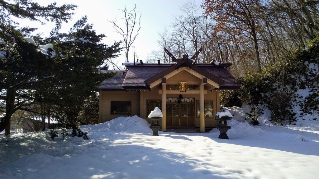 登別神社の本殿