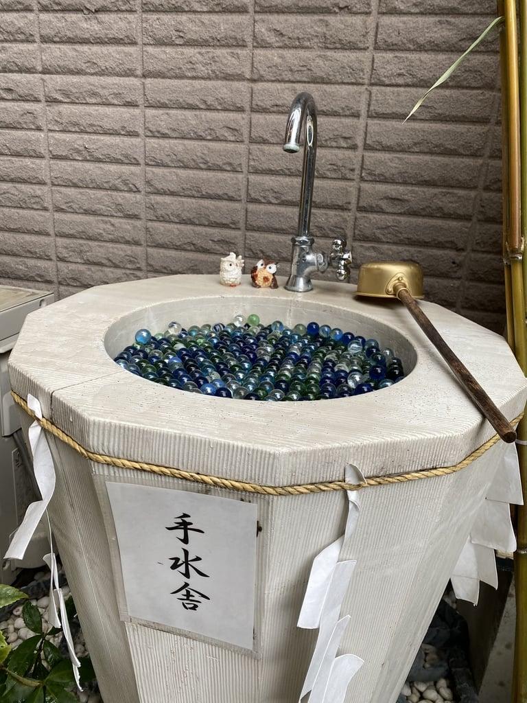剣神社の手水