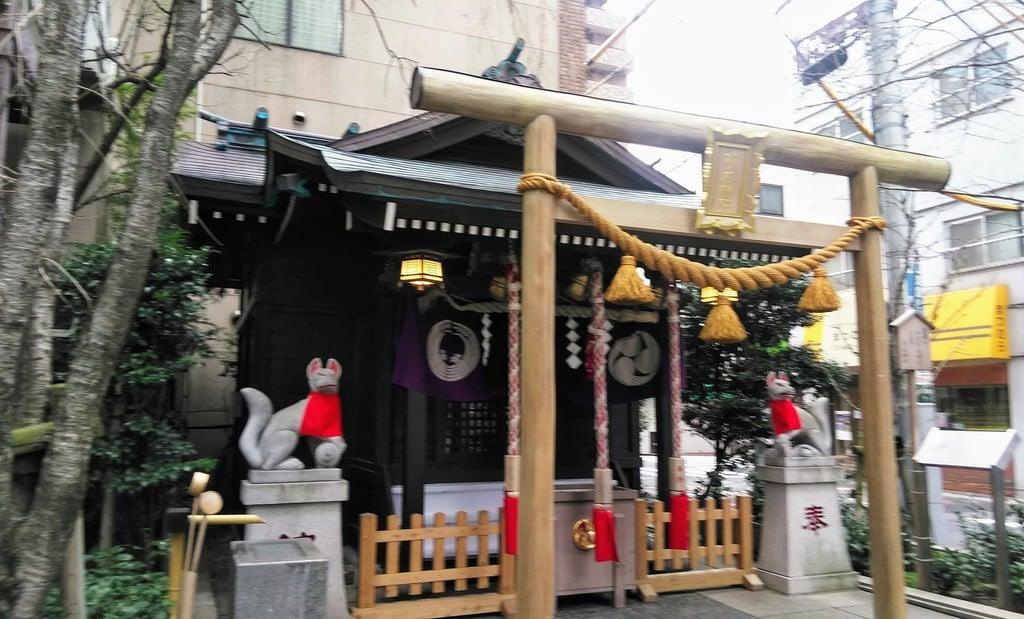 茶の木神社の鳥居