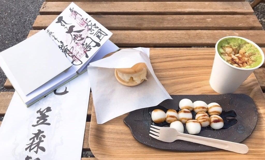 笠森寺の食事