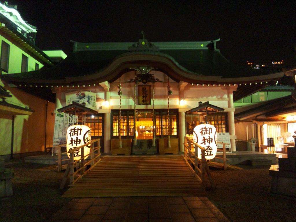 龍城神社の本殿