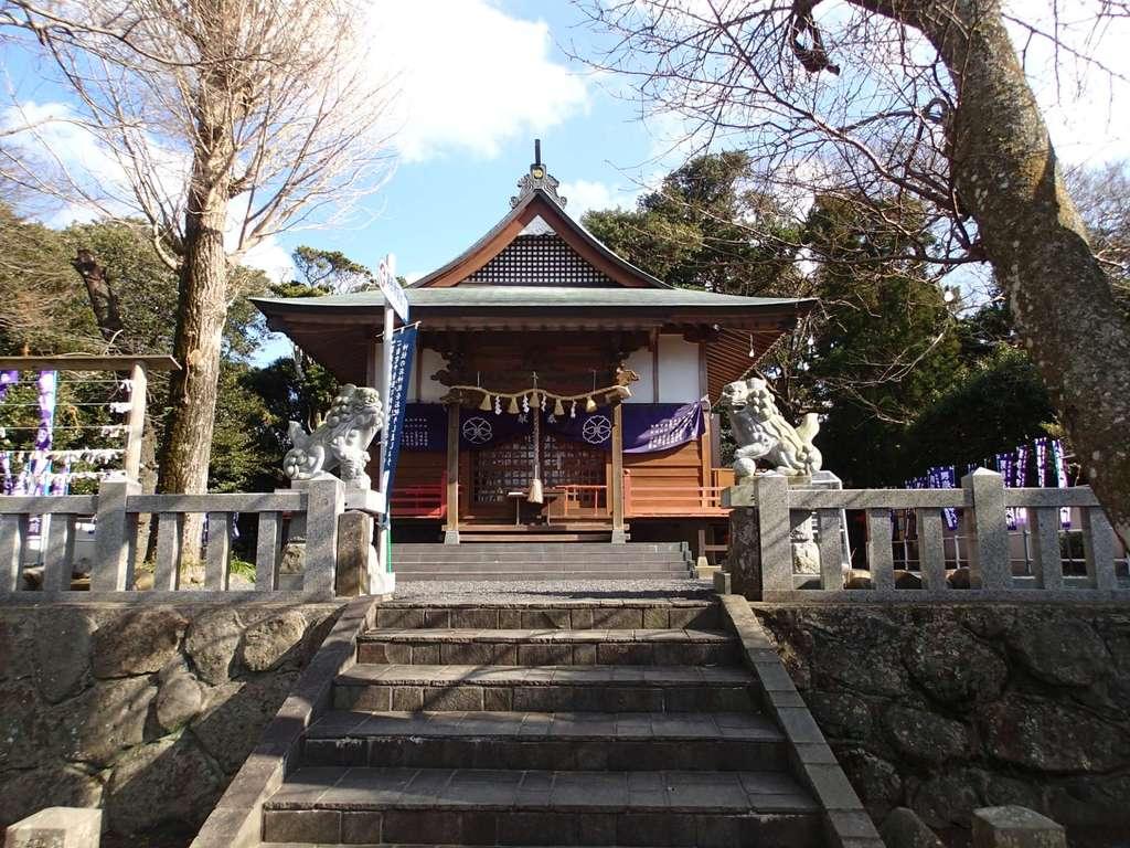 男嶽神社の本殿