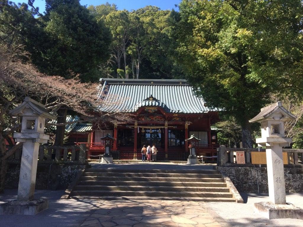 伊豆山神社の本殿