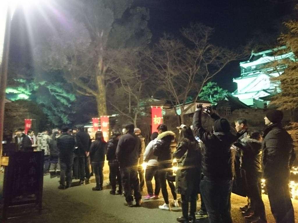 龍城神社の初詣