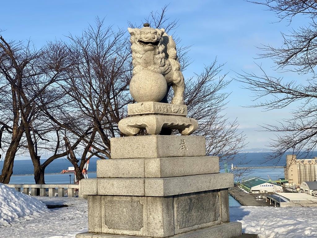 水天宮の狛犬