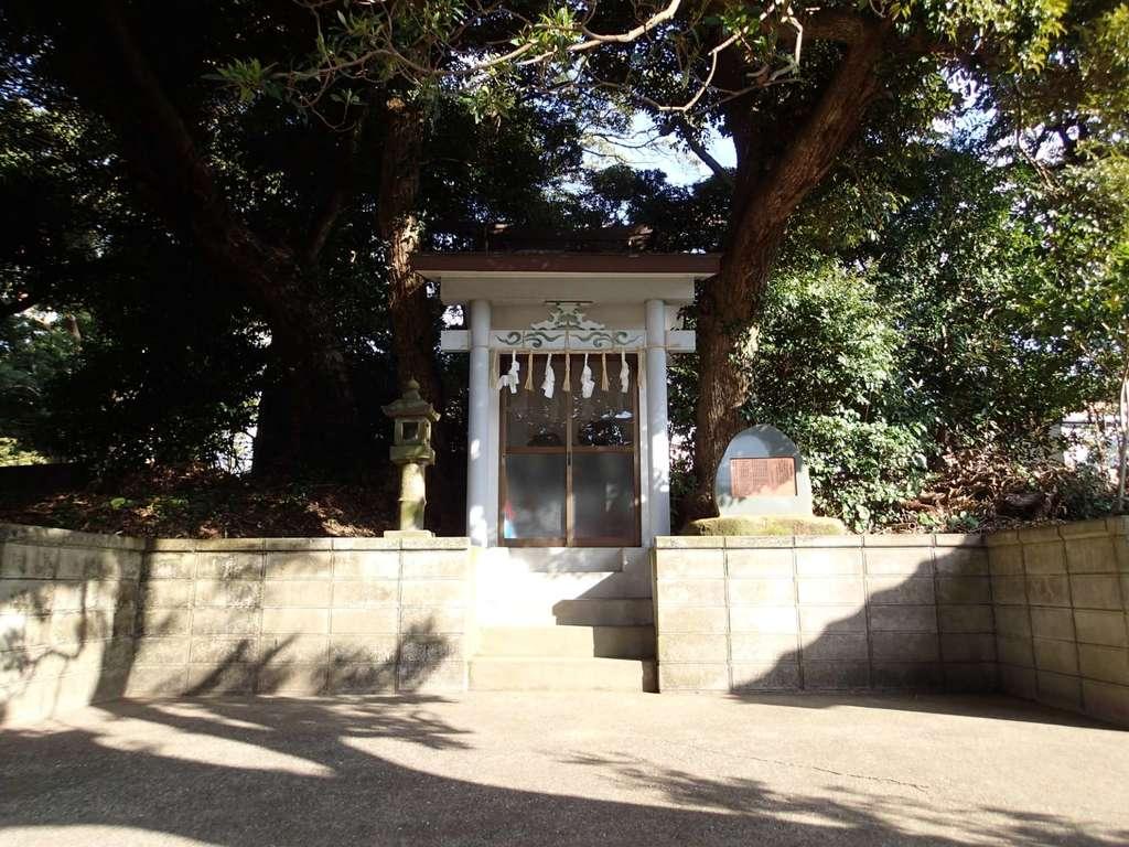 津之宮神社の鳥居