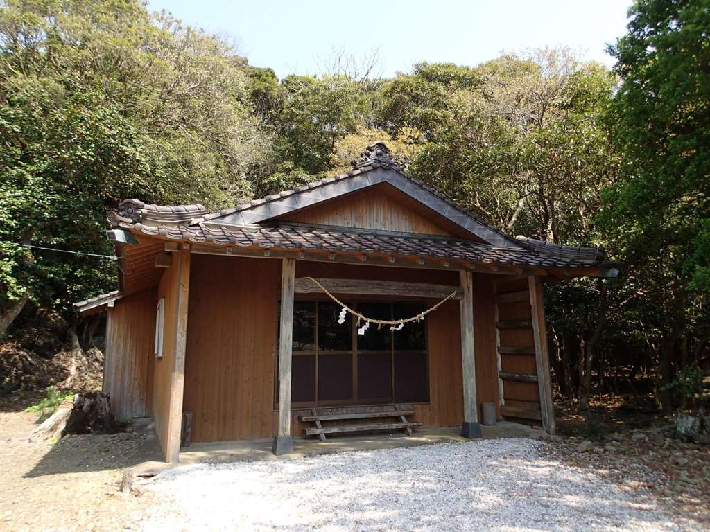 胡禄御子神社の本殿