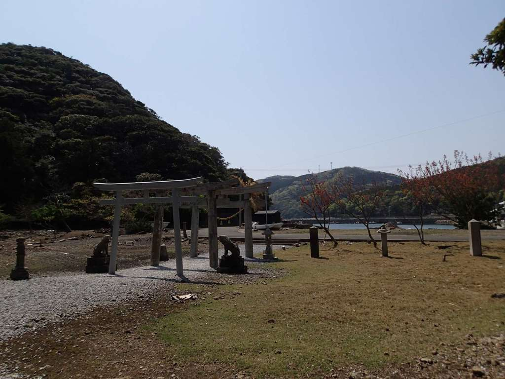 胡禄御子神社の景色