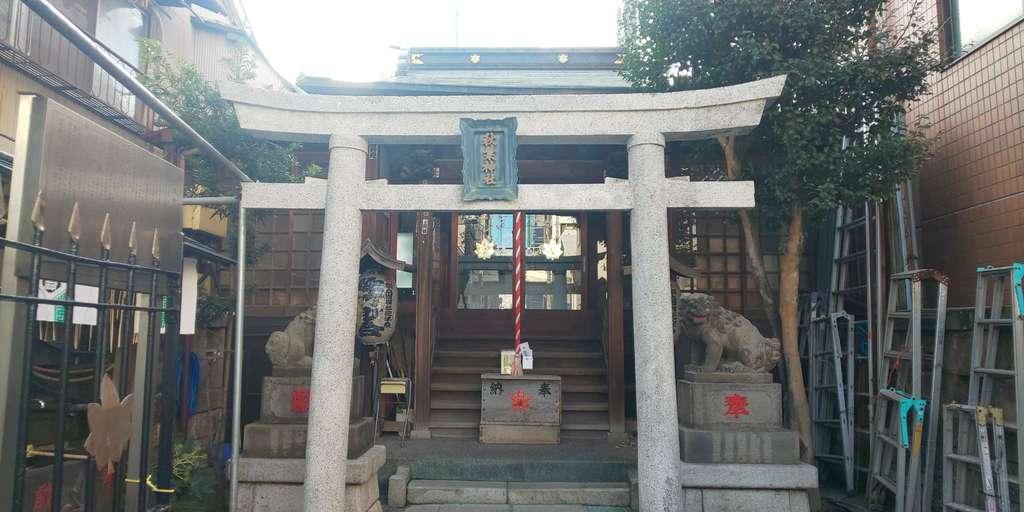 秋葉神社の鳥居