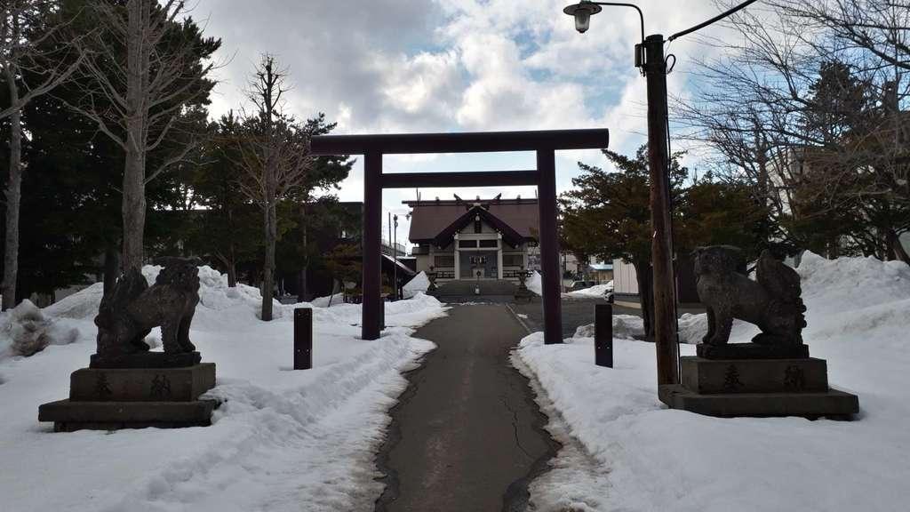 苗穂神社の鳥居