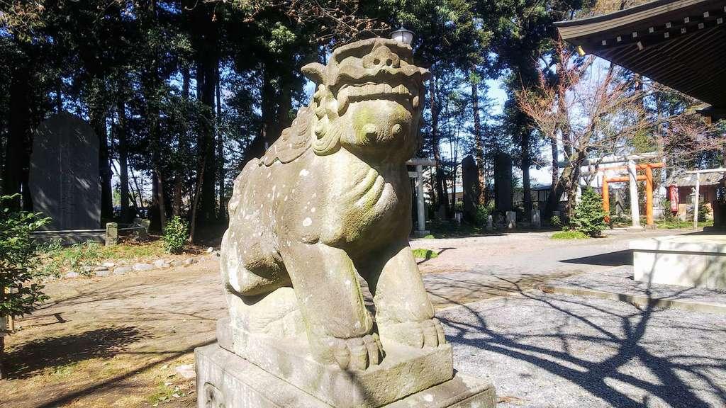 北野天神社の狛犬