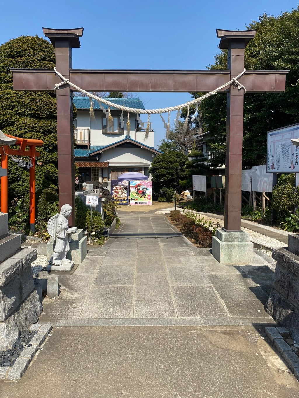 水宮神社の鳥居