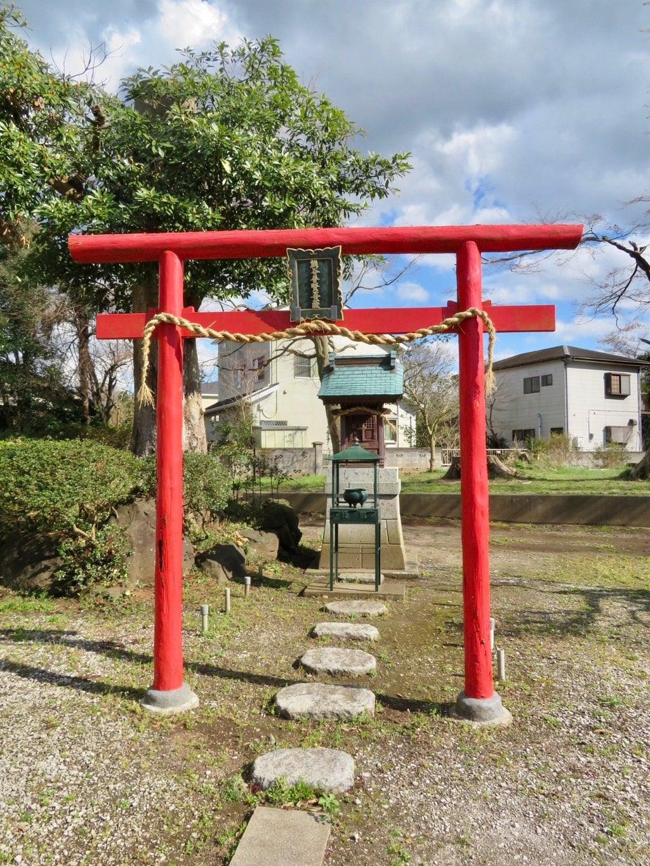 蓮久寺の鳥居