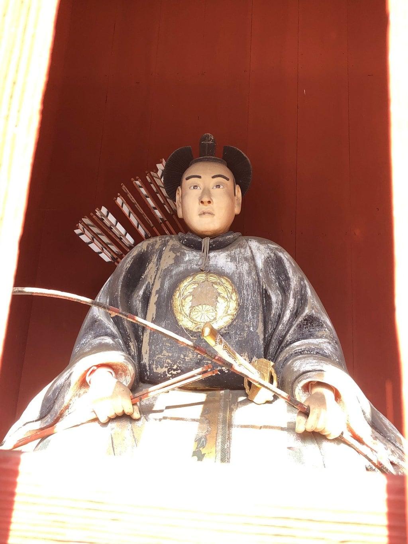 岩木山神社の像