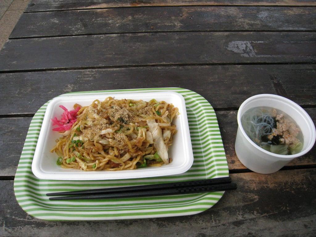 富士山本宮浅間大社の食事