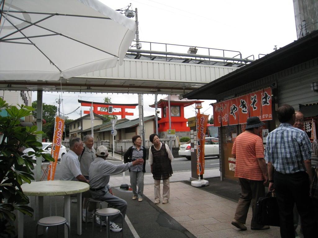 富士山本宮浅間大社の周辺