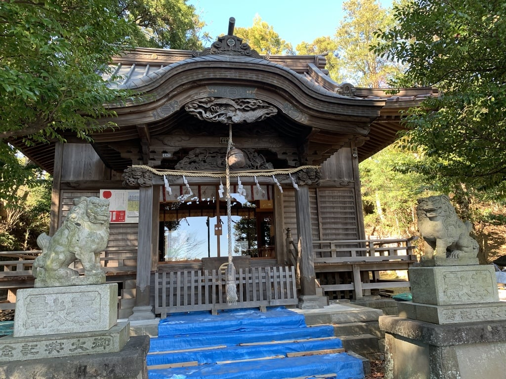 居神神社の本殿