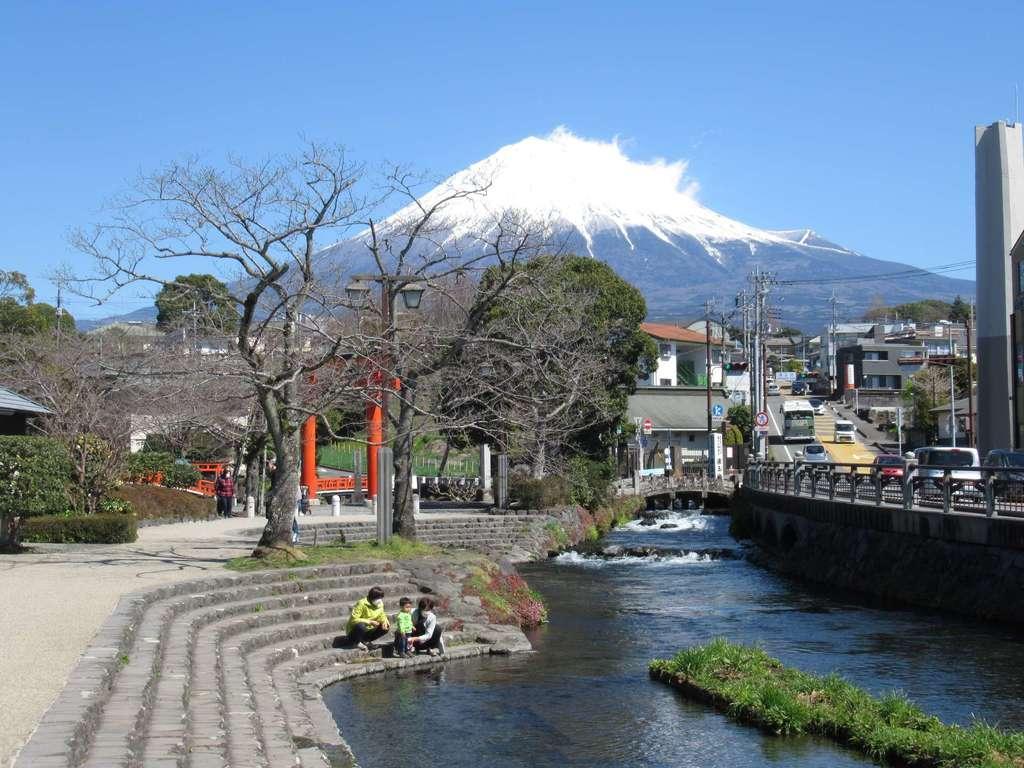 富士山本宮浅間大社の景色