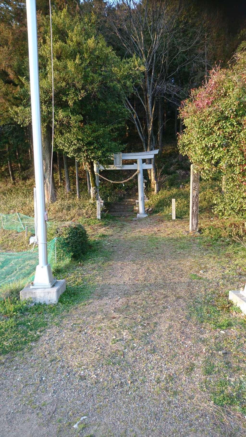 天神神社の鳥居