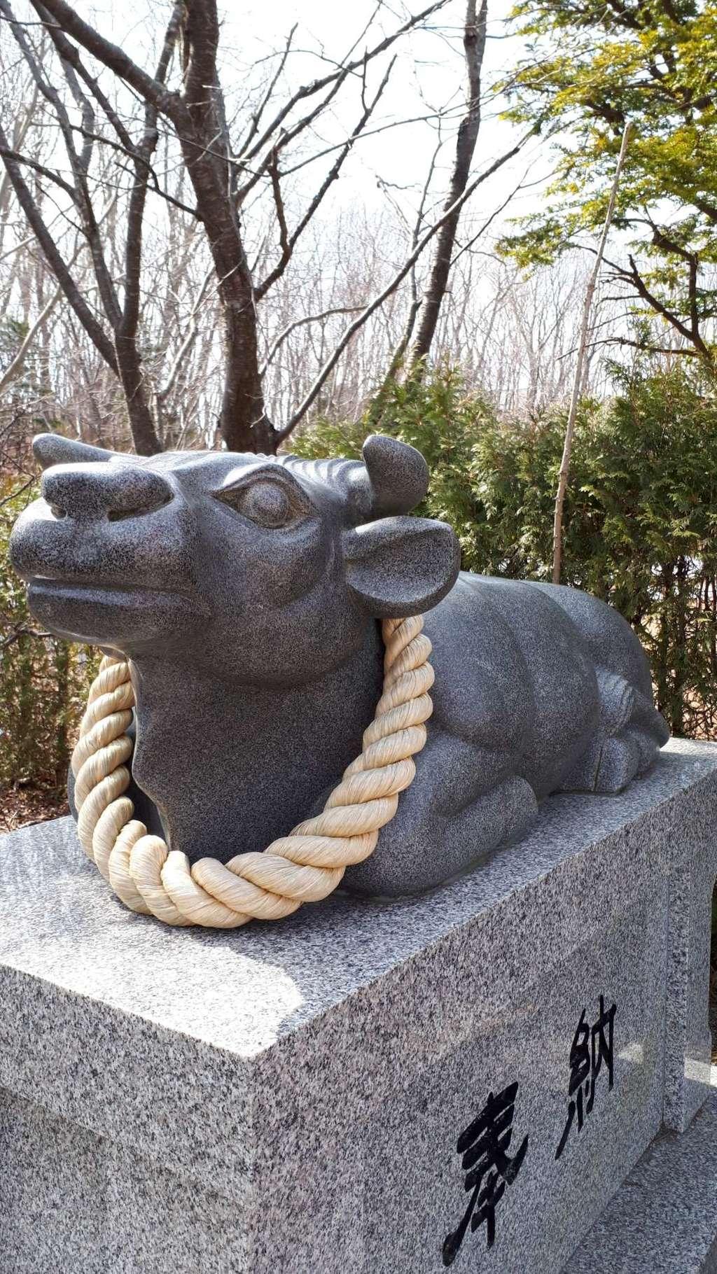 樽前山神社の狛犬