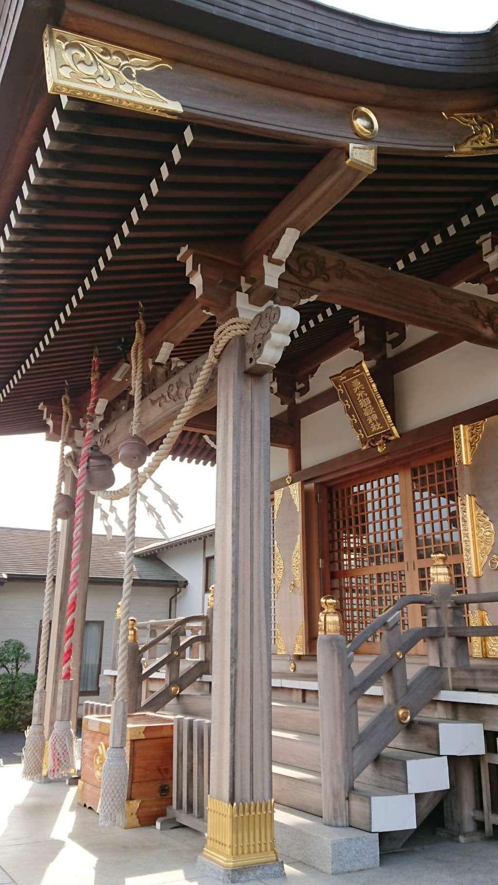 栗木御嶽神社の本殿