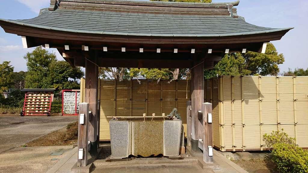 栗木御嶽神社の手水