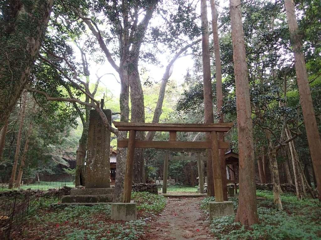 太祝詞神社の周辺