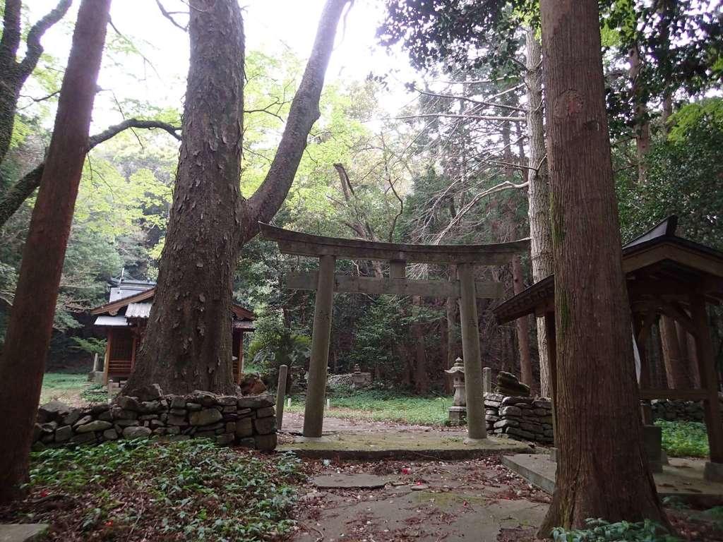 太祝詞神社の鳥居