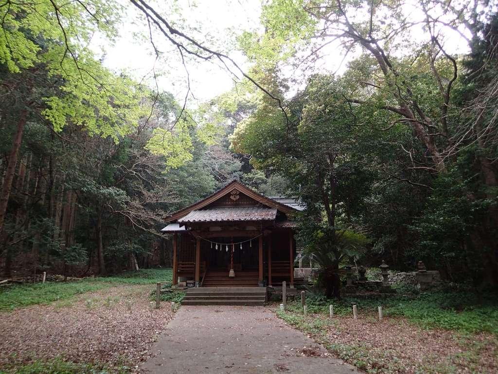 太祝詞神社の本殿