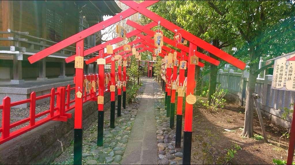 朝日氷川神社の絵馬