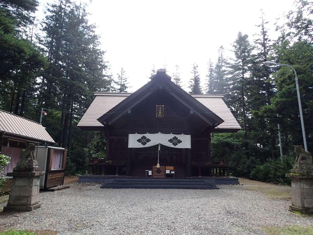 大正神社の本殿
