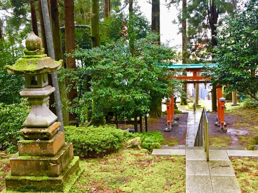八幡神社の景色