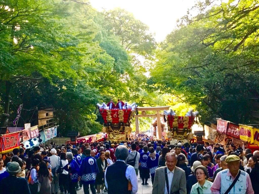 枚岡神社のお祭り