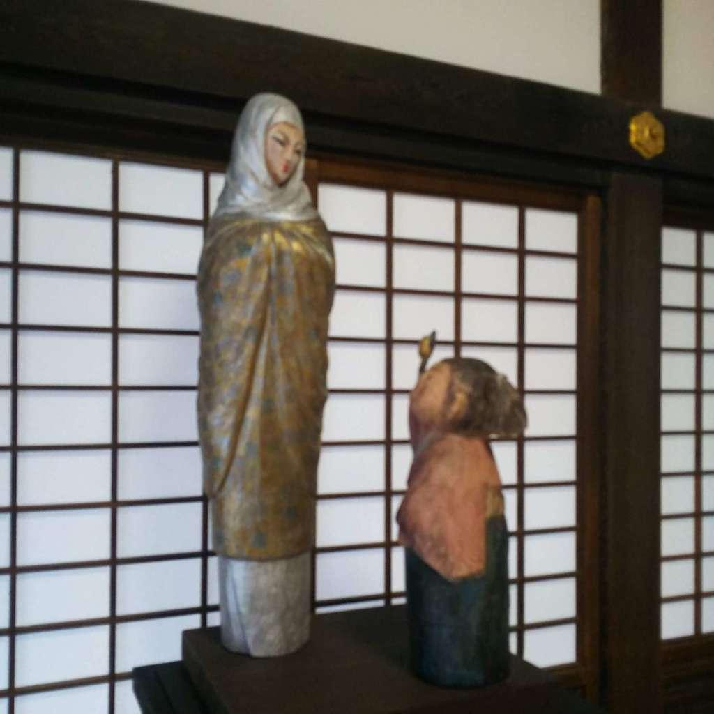 龍潭寺の像