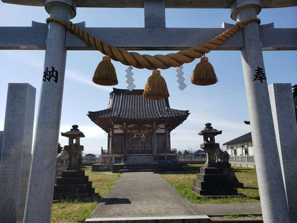 西藤平蔵神社の鳥居