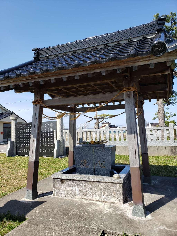 西藤平蔵神社の手水