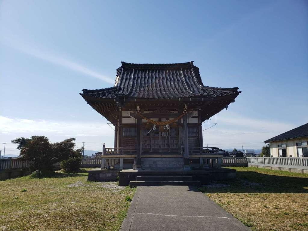 西藤平蔵神社の本殿