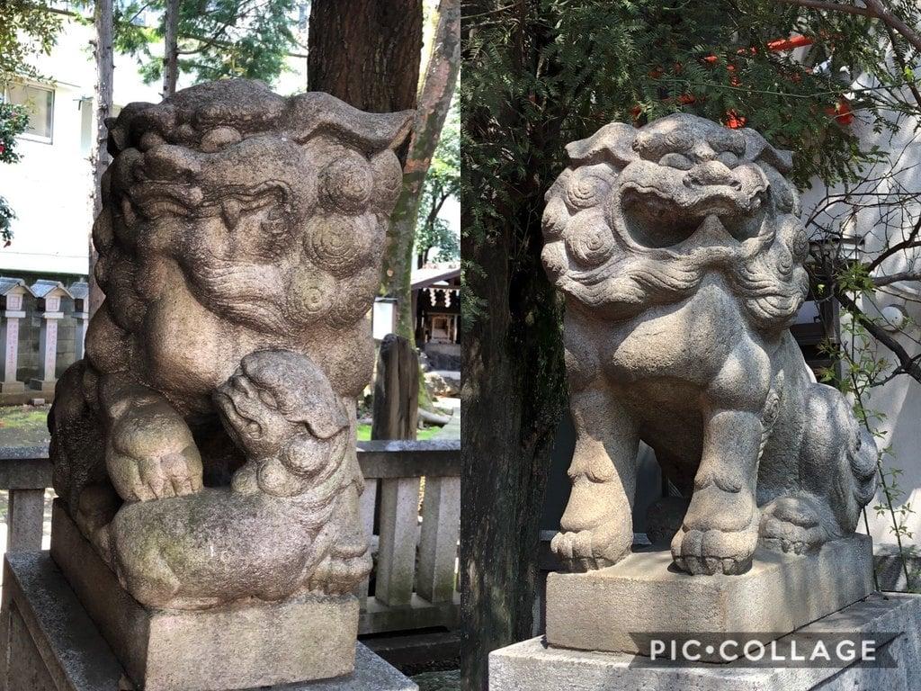 導きの社 熊野町熊野神社の狛犬