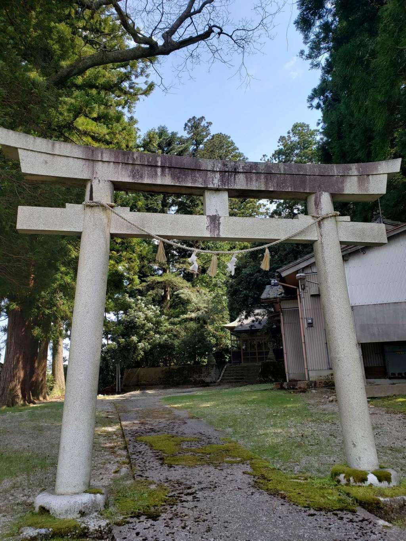 松島八幡宮の鳥居