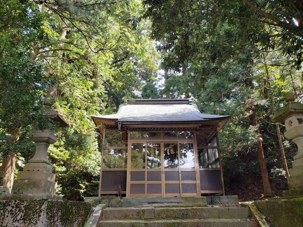 松島八幡宮の本殿