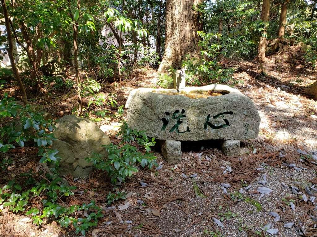 松島八幡宮の手水
