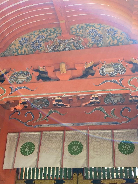 宇佐神宮の芸術