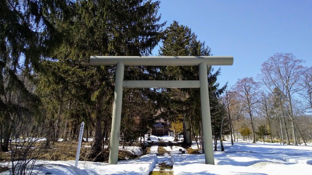 雨粉神社の鳥居