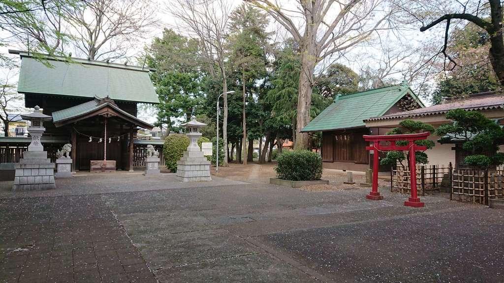 上染屋八幡神社の建物その他