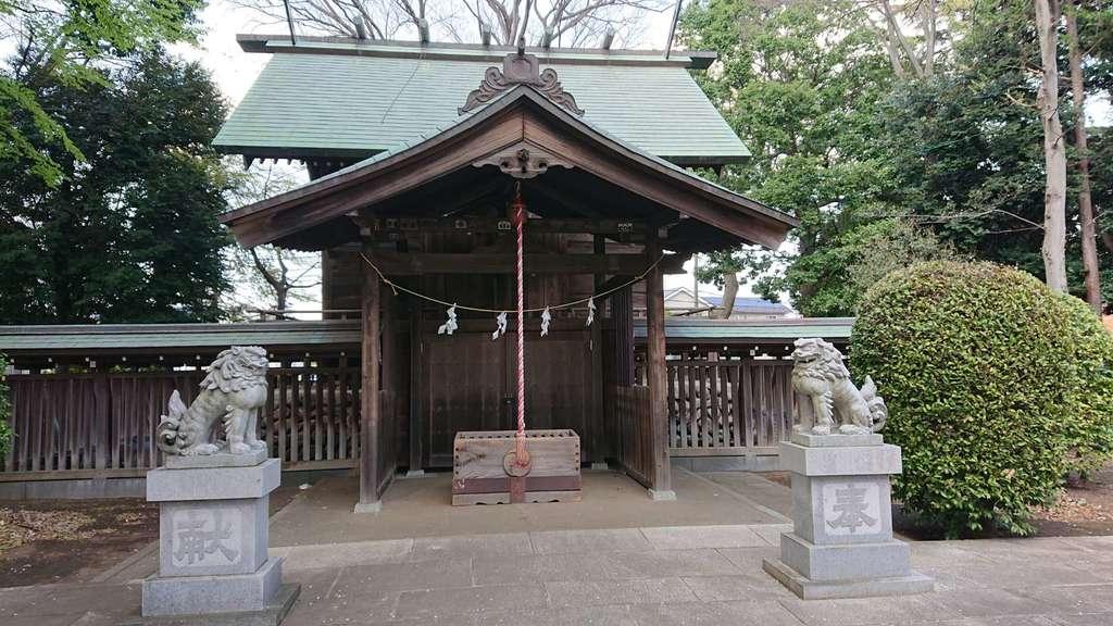 上染屋八幡神社の本殿