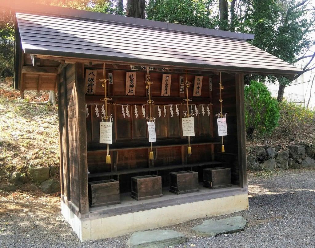 中氷川神社の末社
