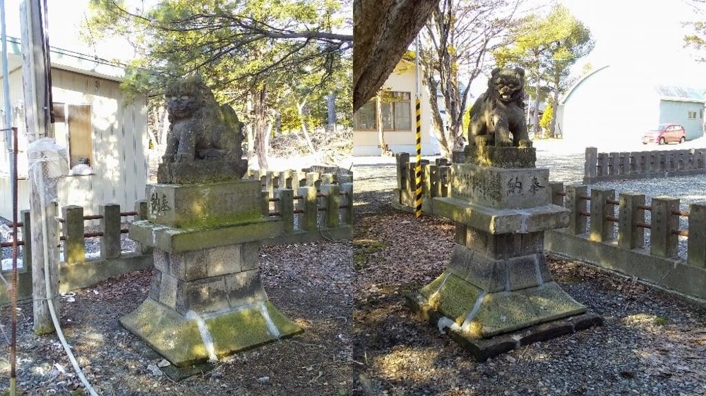 南幌神社の狛犬