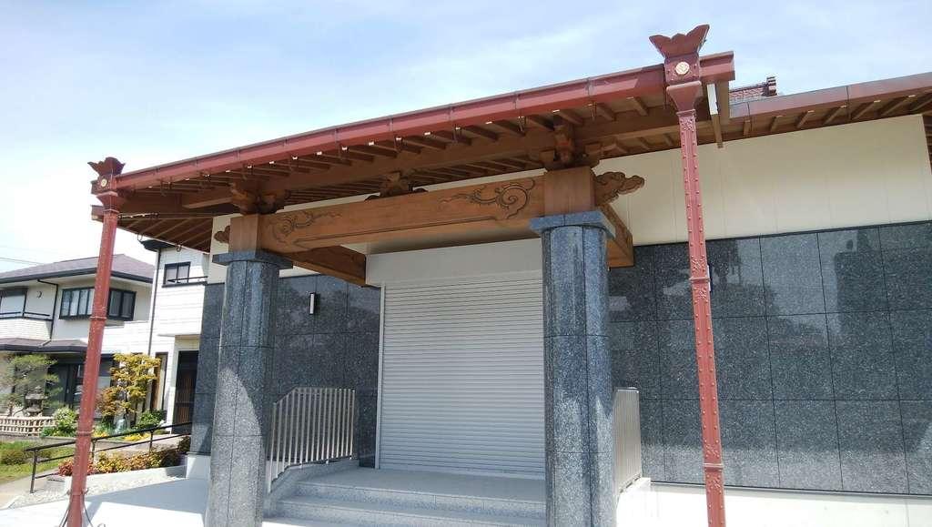 大鏡寺の本殿