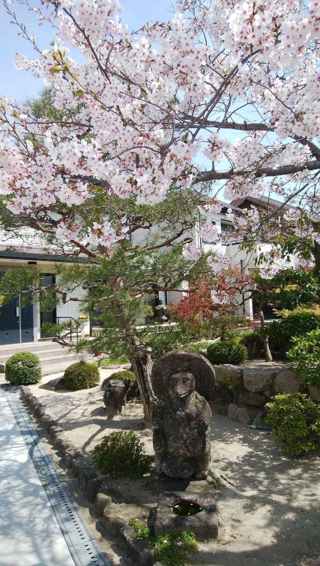 大鏡寺の像