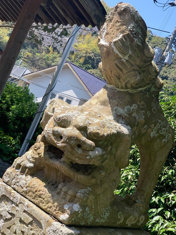 机崎神社の狛犬